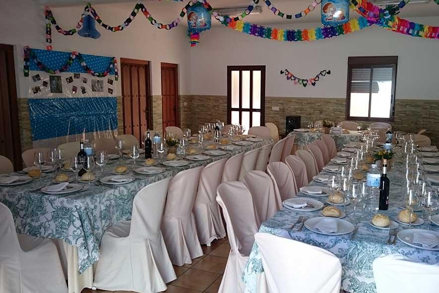 Comunión con el Catering Cáceres Pajuelo