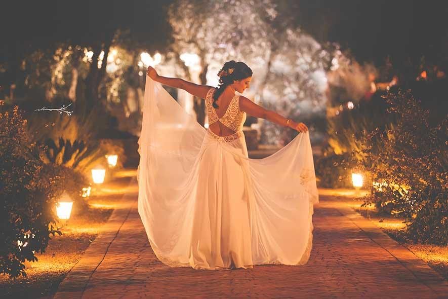 novia el día de su boda