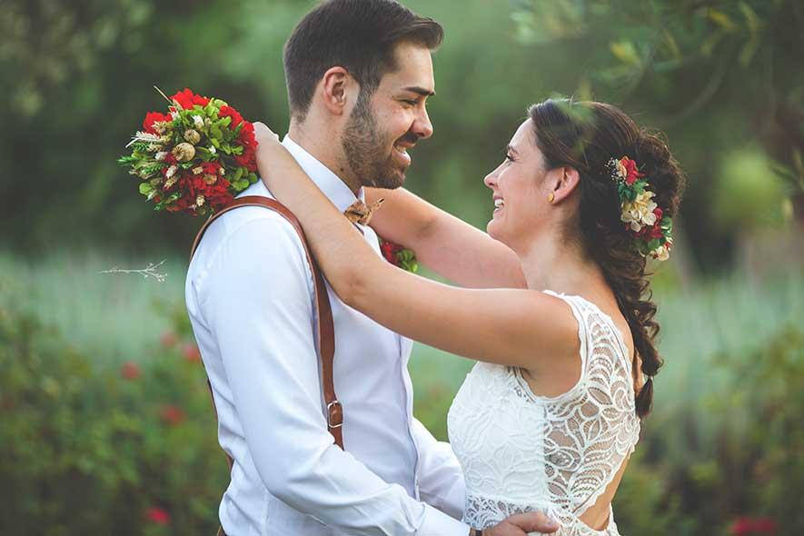 novios, ceremonia civil