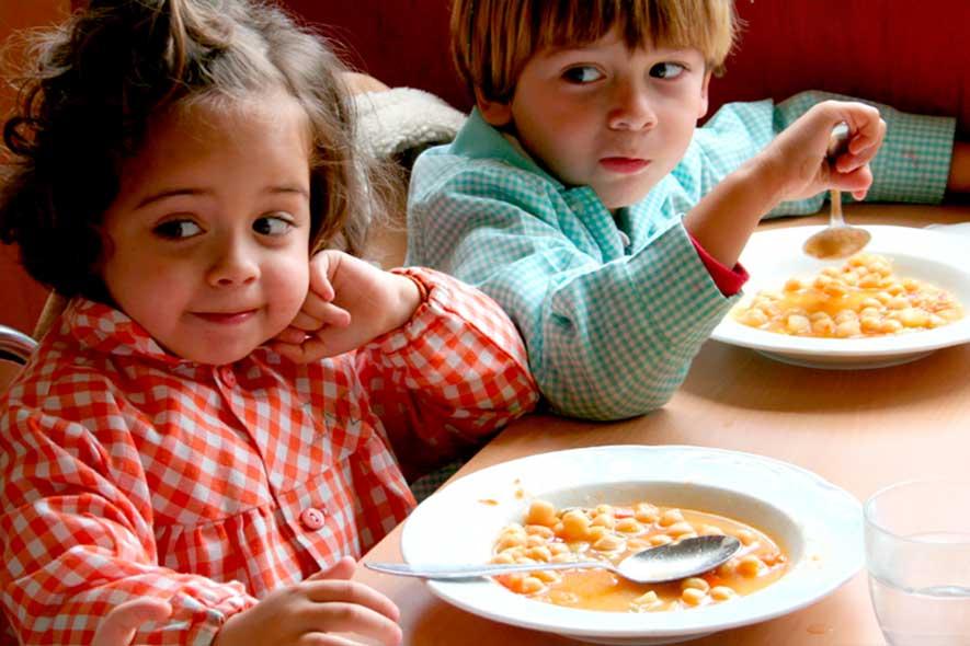 Comedor escolar Cáceres